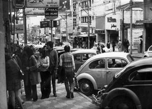 Rua Augusta em 1970